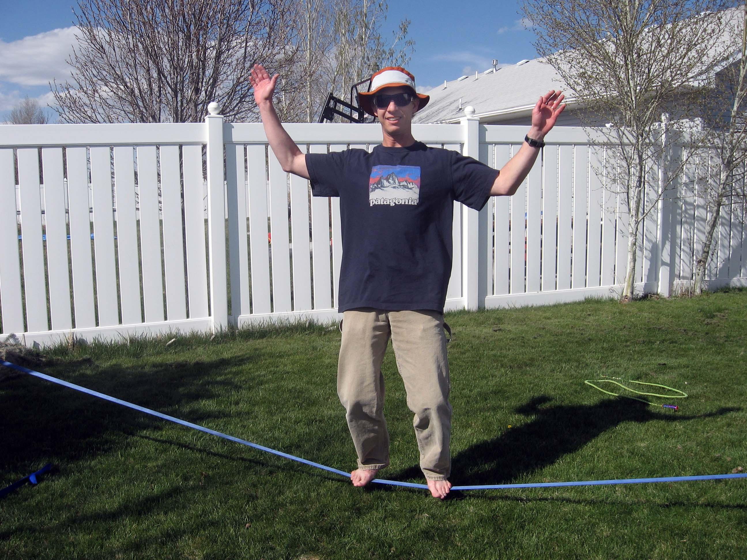 return of the slackline the outdoor parent