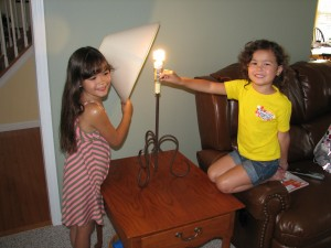 Replacing old bulbs cuts down on the power bill and conserves.