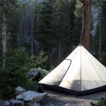 A perfect campsite.